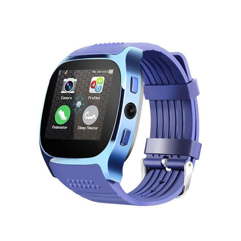 Smart camera phone SIM card watch bracelet (pu d00)