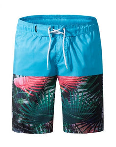 Mens board shorts trousers surfing swimming trunks plus size breathable M-3XL