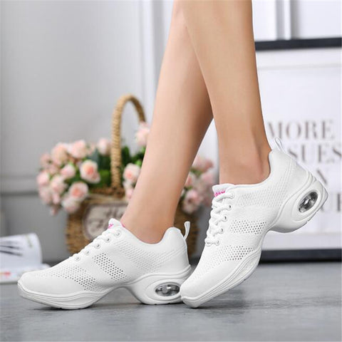 Womens running platform heels sneakers casual shoes (wh)