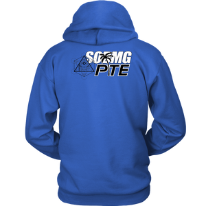 APOC Metatron's  Cube + PTE + SODMG Unisex Hoodie (Front and Back logo)