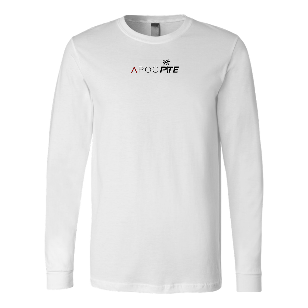 Official APOC Red + PTE Men's Long Sleeve