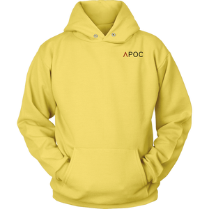 APOC Red with Metatron's Cube (On the Back) Unisex Hoodie