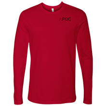 Load image into Gallery viewer, APOC Red Collection Men's Long Sleeve Shirt