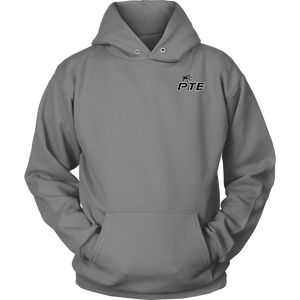 PTE Unisex Hoodie (Front and Back PTE logo)