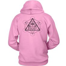 Load image into Gallery viewer, APOC Metatron's Cube Unisex Hoodie