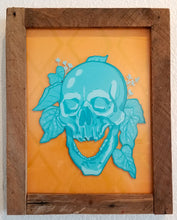Load image into Gallery viewer, Blue Skull