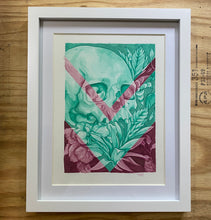Load image into Gallery viewer, Skull and Bromeliads