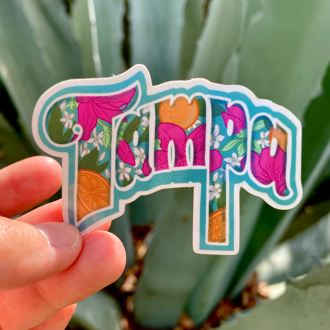 Tampa Sticker
