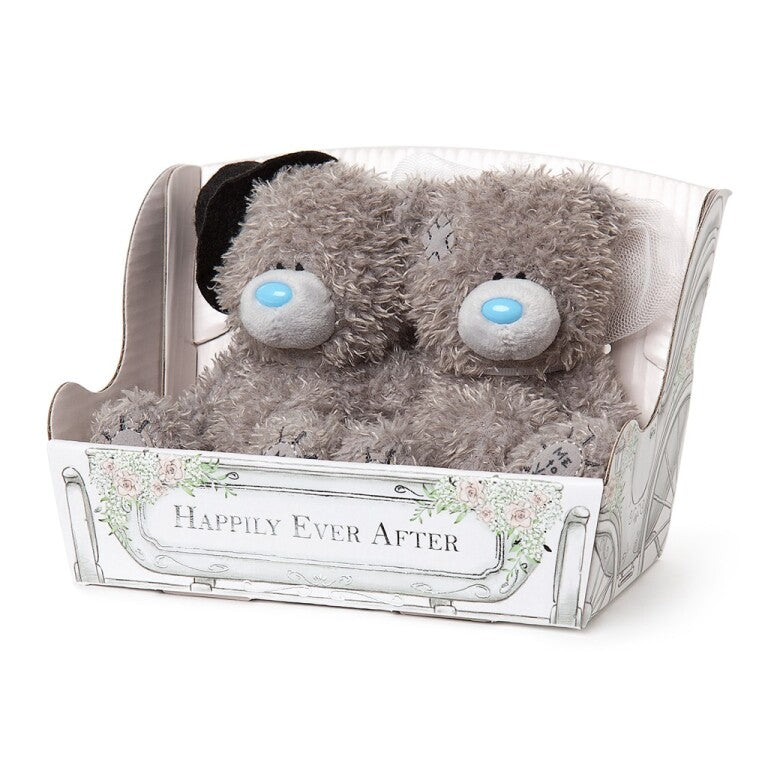 Mr & Mrs Wedding Tatty Teddys