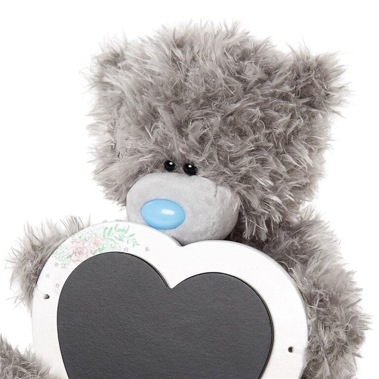 Love Heart Chalkboard Tatty Teddy