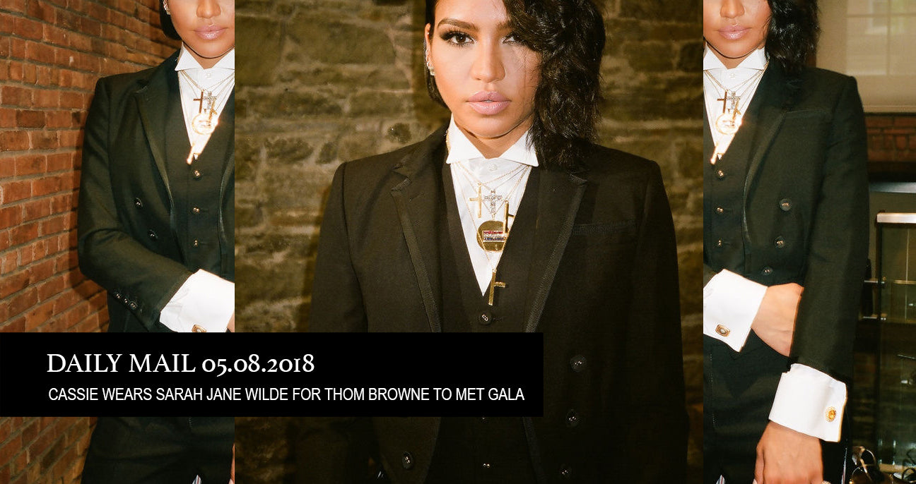 Cassie Wears Sarah Jane Wilde Fine Jewelry To Met Gala 2018