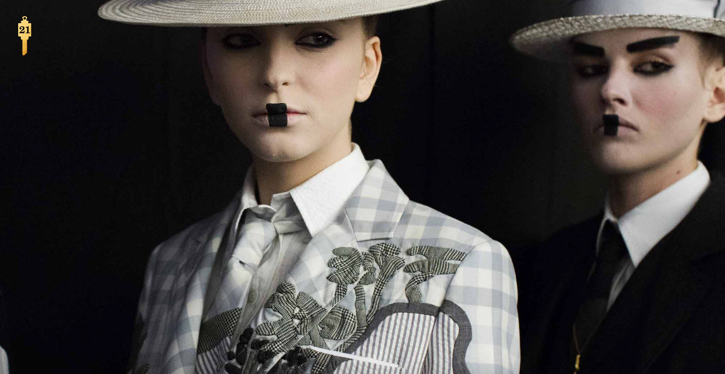 Sarah Jane Wilde for Thom Browne New York