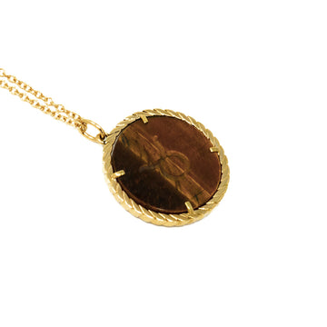 Cult Collection Zodiac Necklace - Tiger's Eye