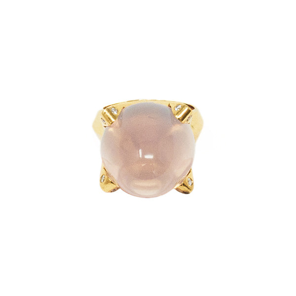 One of a Kind Ring - Rose Quartz