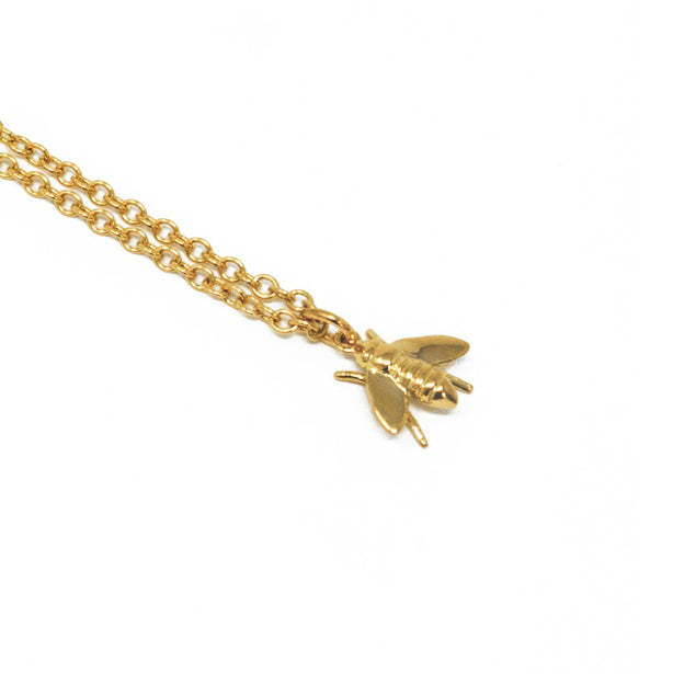 Pests Baby Bee Necklace - Small