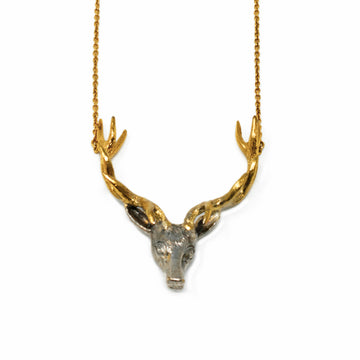 Cannibals & Vegans Stag Necklace