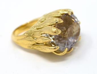 One Of A Kind 64 Carat Spudomene Siren Ring