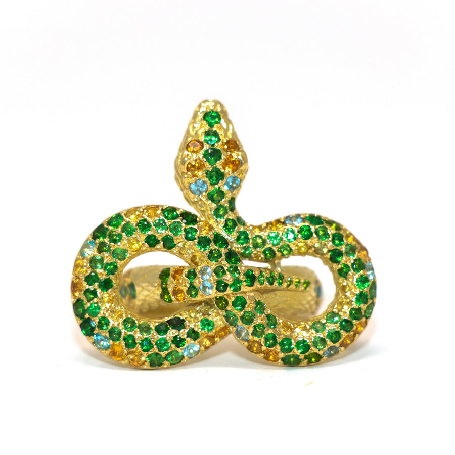 One of a Kind Snake Ring