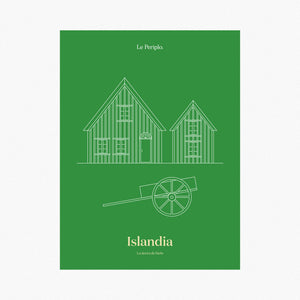 Iceland Cabins Poster
