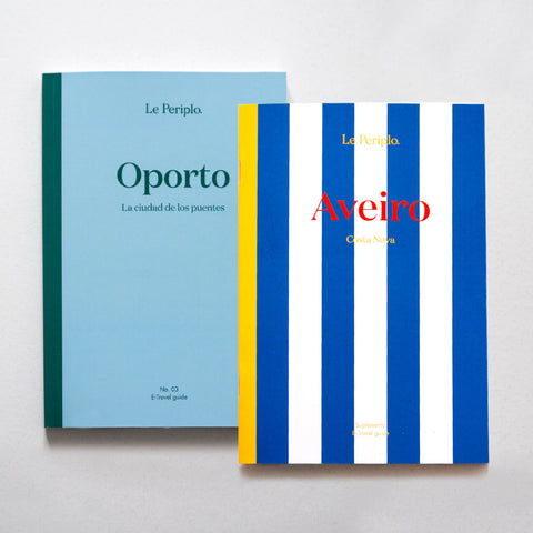 Porto - Aveiro/Costa Nova supplement Pack (printed) spanish version