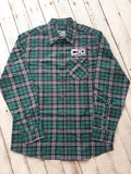 Forest Green Flanno