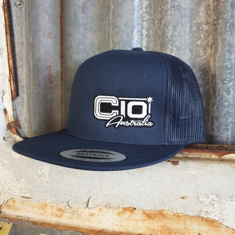 Navy Truckers Hat