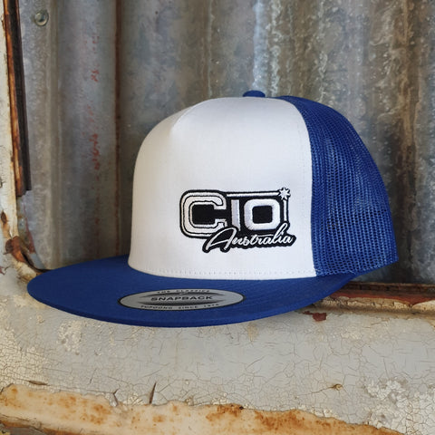 Royal Blue Truckers Hat