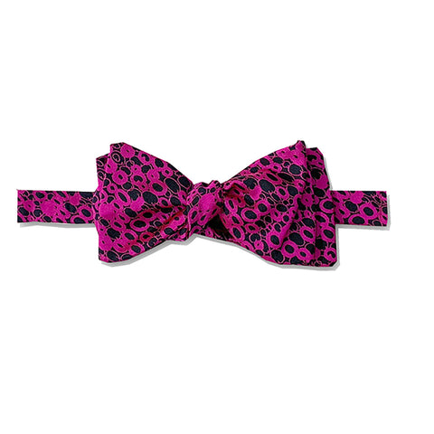 Fuchsia Bobble Bow