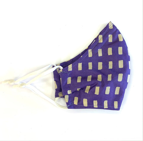 Purple dash mask Medium