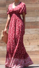 Load image into Gallery viewer, Esther Paisley Border Printed Maxi Summer Dress