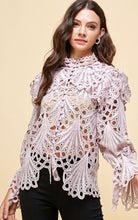 Load image into Gallery viewer, Emma's Crochet Lace Blouse
