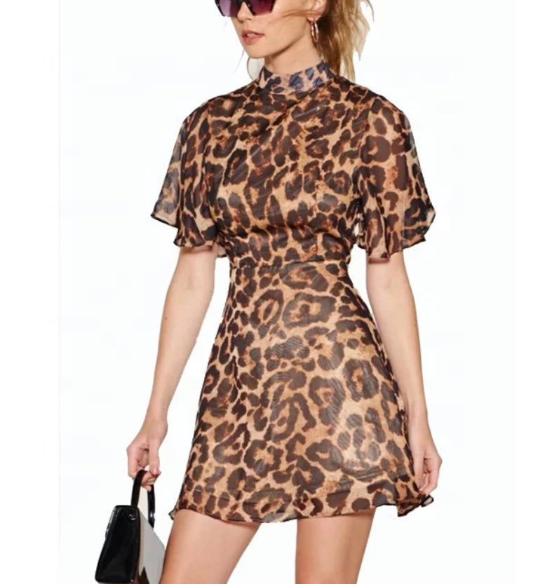 Stella Instagram Leopard Mini Dress