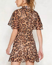 Load image into Gallery viewer, Stella Instagram Leopard Mini Dress
