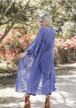 Load image into Gallery viewer, Bohemian Lace Embroidered Kimono