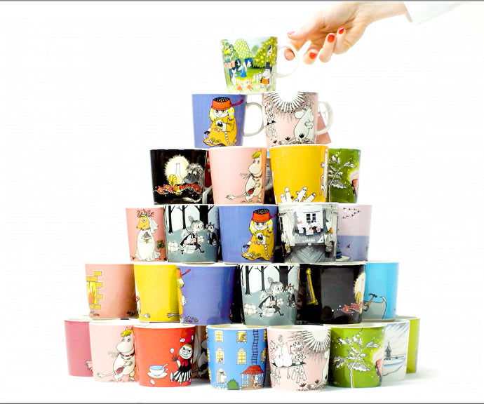 The ultimate list of the Moomin mugs by Arabia and their history