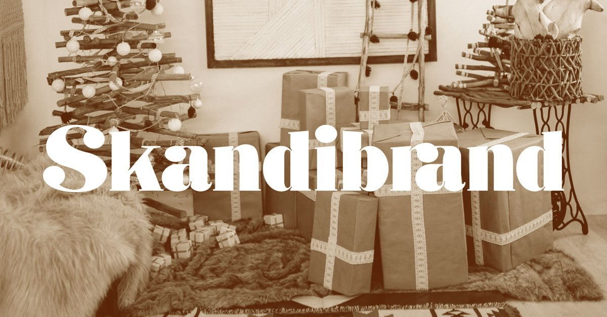 Skandibrand's 2019 Holiday Order Deadlines