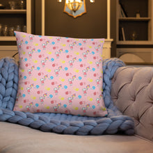 Load image into Gallery viewer, Pink pillow with Little Anna