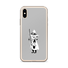 Load image into Gallery viewer, Snufkin iPhone case grey