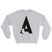 Load image into Gallery viewer, A - Moomin Alphabet Sweatshirt - feat. Little My