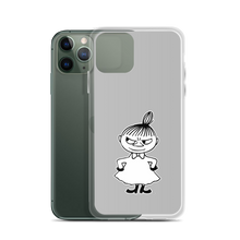 Load image into Gallery viewer, Little My iPhone case grey