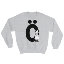 Load image into Gallery viewer, Ö - Moomin Alphabet Sweatshirt - feat. Snufkin