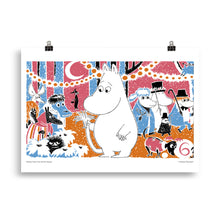 Load image into Gallery viewer, Moomin Comic book cover 6 Poster Skandibrand
