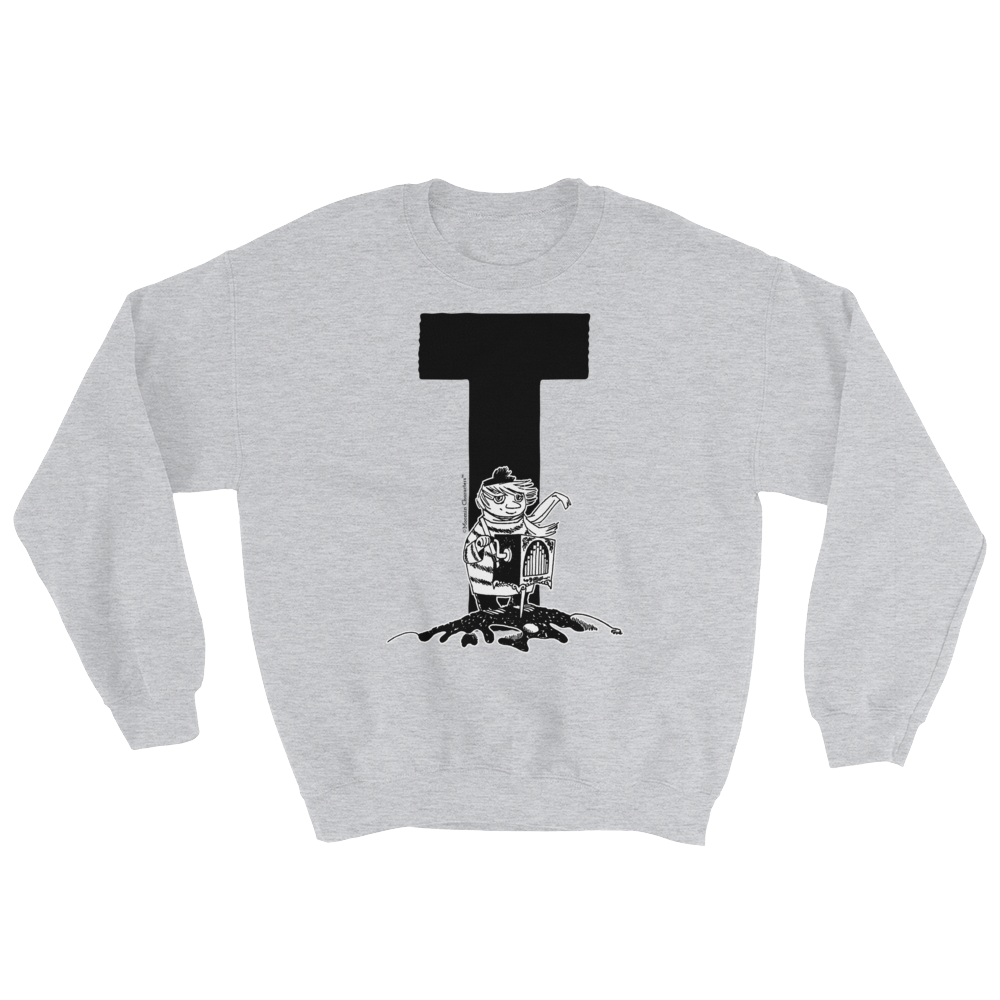 Moomin Alphabet sweatshirt - T as in Too-ticky