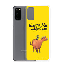 Load image into Gallery viewer, Mamma Moo and the Crow Samsung Case in yellow