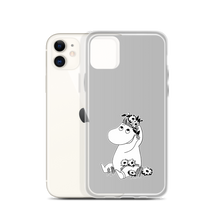 Load image into Gallery viewer, Snorkmaiden iPhone case grey