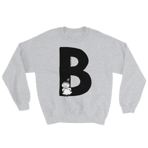 B - Moomin Alphabet Sweatshirt - feat. Little My