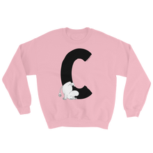 Load image into Gallery viewer, C - Moomin Alphabet Sweatshirt - feat. Moomin
