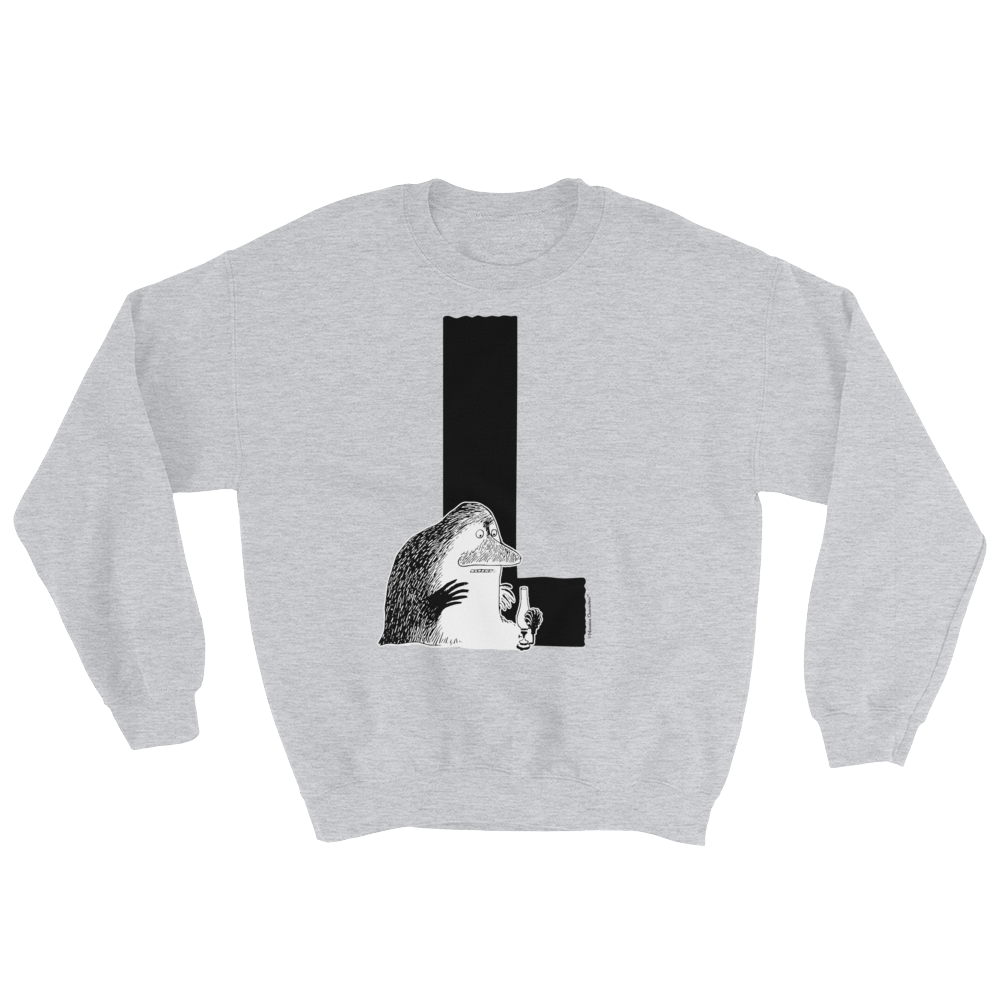 L - Moomin Alphabet Sweatshirt - feat. the Groke