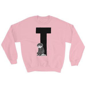 Moomin Alphabet sweatshirt - T as in Toffle
