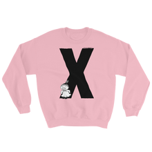 Load image into Gallery viewer, X - Moomin Alphabet Sweatshirt - feat. Little My